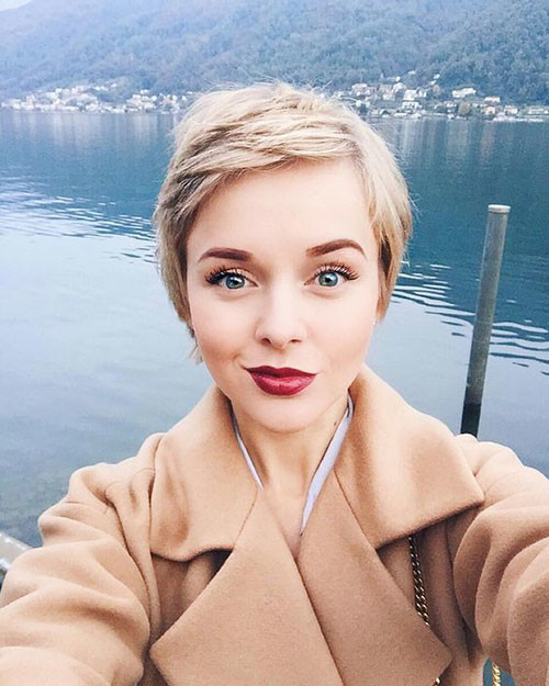 Short-Fine-Pixie-Hairstyle Short Pixie Haircuts for Pretty Look