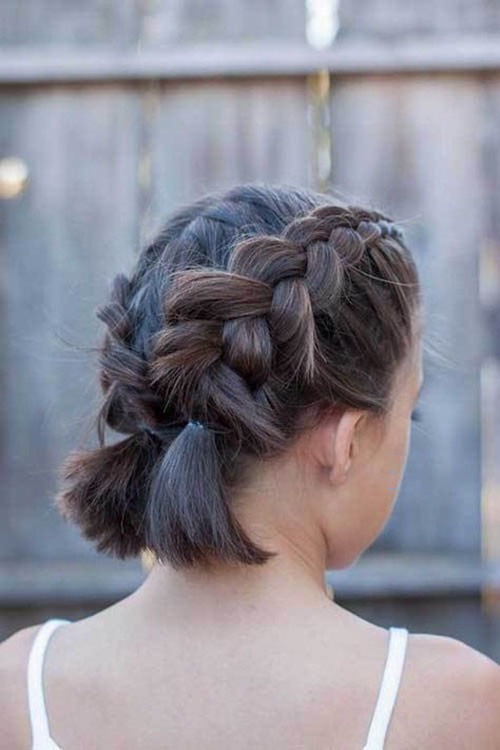Short-French-Braids-2 Best French Braid Short Hair Ideas 2019