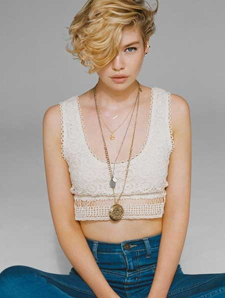 Short-Gorgeous-Curly-Blonde-Hair Short blonde hairstyles