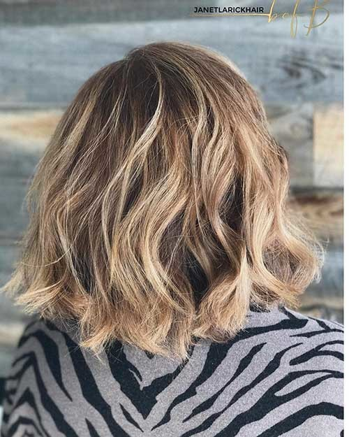 Short-Hairstyle-for-Thick-Hair Most Magnetizing Hairstyles for Curly and Wavy Hair