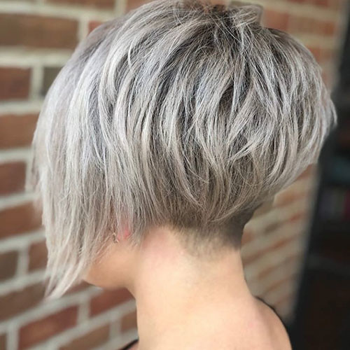 Short-Layered-Bob-1 New Ash Blonde Short Hair Ideas