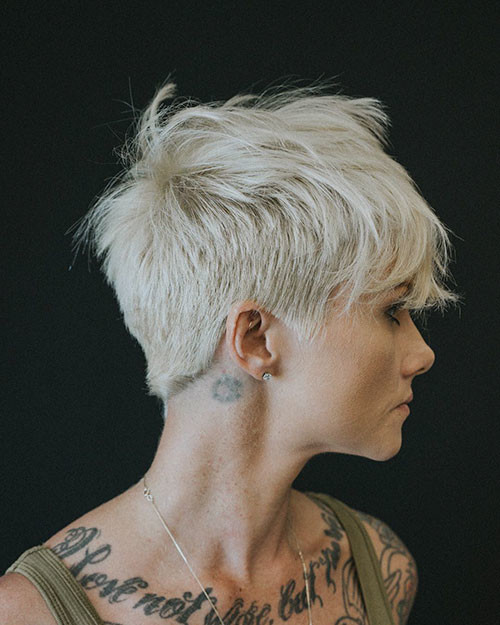 Short-Layered-Pixie-1 Best Short Layered Pixie Cut Ideas 2019