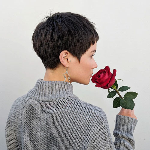 Short-Layered-Pixie-3 Best Short Layered Pixie Cut Ideas 2019