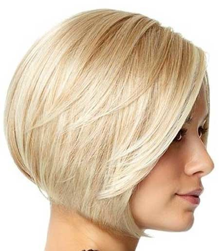 Short-Neat-Blonde-Bob Short blonde hairstyles