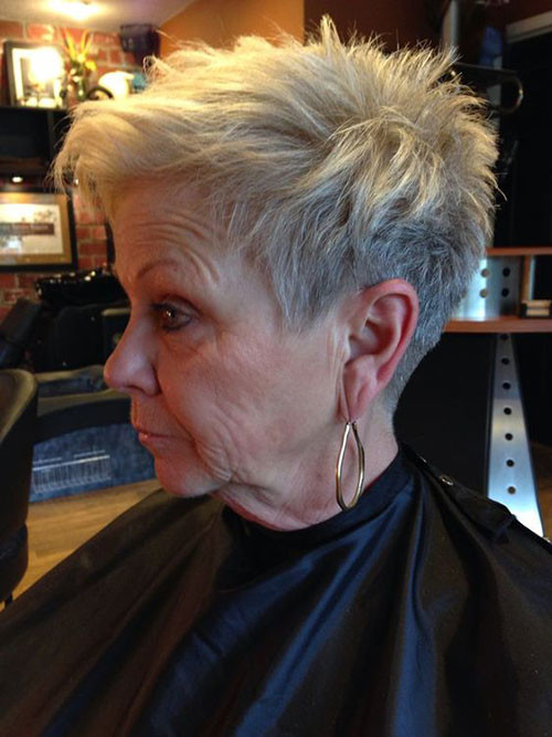Short-Sassy-Pixie-Cut-for-Women-Over-50 Best Short Haircuts for Women Over 50