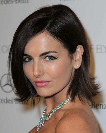Short-Straight-Gorgeous-Hair Best Celebrity Short Hairstyles