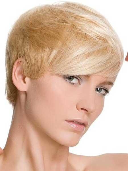 Short-Thick-Original-Hairstyle Short blonde hairstyles
