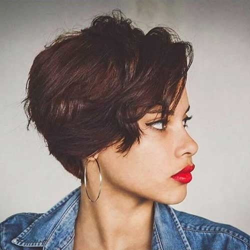 Short-Wavy-Hair-1 Chic Short Hair Ideas with Bangs