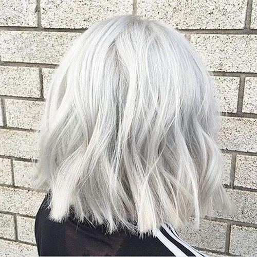 Short-White-Blonde-Hairstyles-1 New Short White Hair Ideas 2019