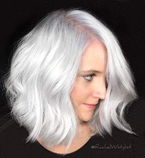 Short-White-Hair-2 New Short White Hair Ideas 2019