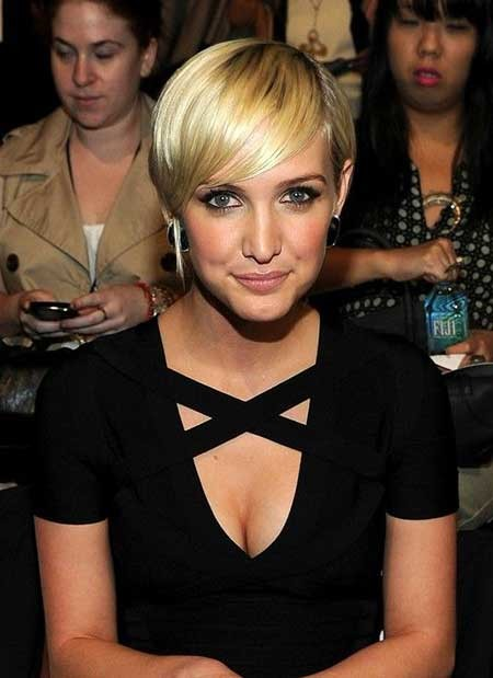 Short-simple-Straight-Blonde-Hairstyle Short blonde hairstyles
