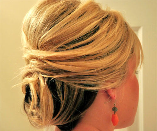 Short-wedding-updo-hairstyles Short Wedding Hair Ideas