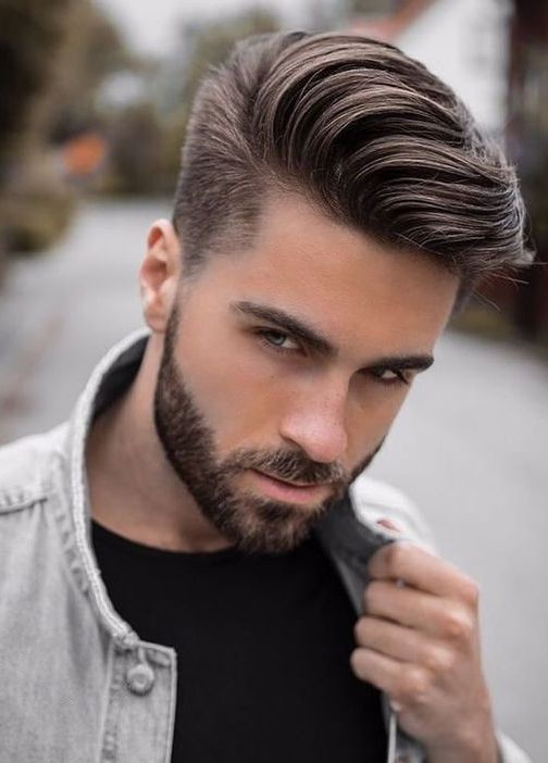 Side-Part-Pompadour Men's Hair Trends That Aren't The Fade
