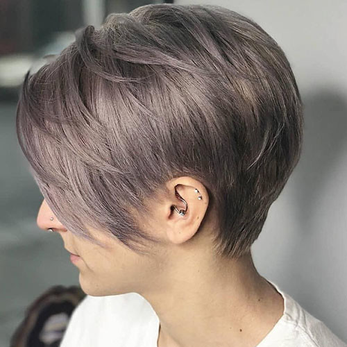 Straight-Pixie-Cut-1 Best Short Layered Pixie Cut Ideas 2019