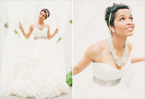 Sweet-short-wedding-hairstyles Short Wedding Hair Ideas