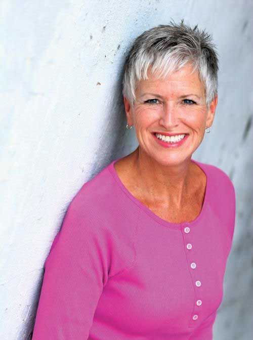 Too-Short-Hair Best Short Haircuts for Women Over 50