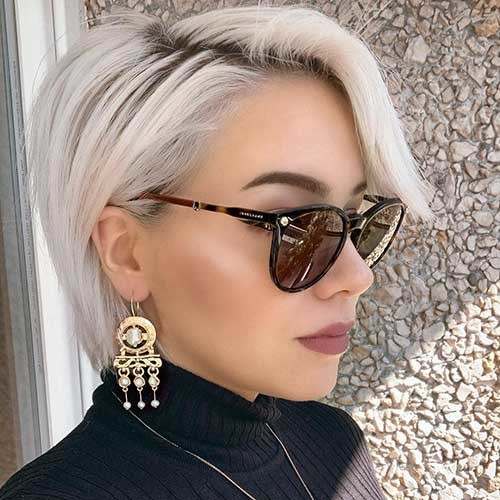 Trendy-Short-Hairstyle Best Hairstyle Ideas for Short Hair