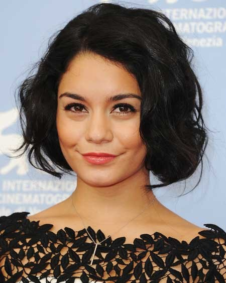 Vanessa-Hudgens-short-hair New Short Celebrity Haircuts 2019