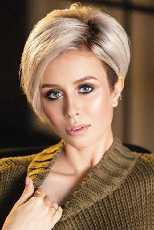 Vedge-Haircut Simple Short Hairstyles for Pretty Women