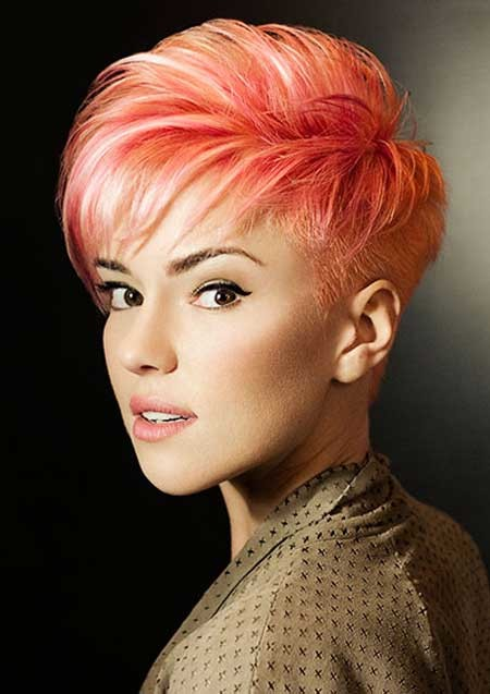 Very-Charming-and-Fabulous-Pixie-Cut Hair Color for Short Hair 2019