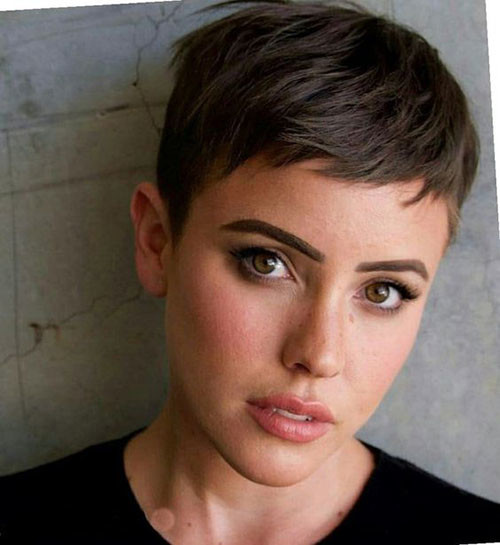 Very-Short-Pixie-1 Short Pixie Haircuts for Pretty Look