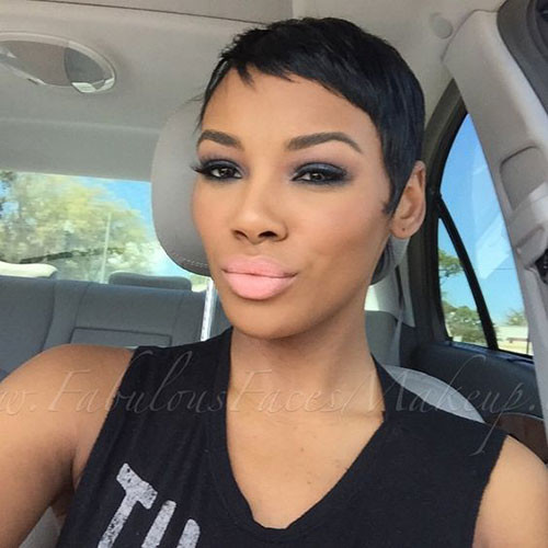 Very-Short-Pixie-2 In Style Short Haircuts for Black Women