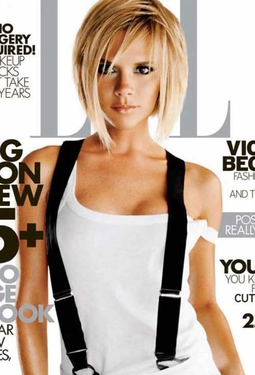 Victoria-Beckham-Short-Fine-Hair Victoria Beckham Short Blonde Hair