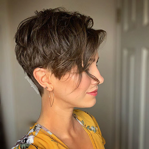 layered-pixie-1 Best Short Layered Pixie Cut Ideas 2019