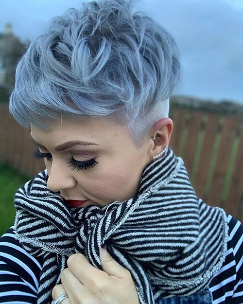 short-layered-pixie Best Short Layered Pixie Cut Ideas 2019