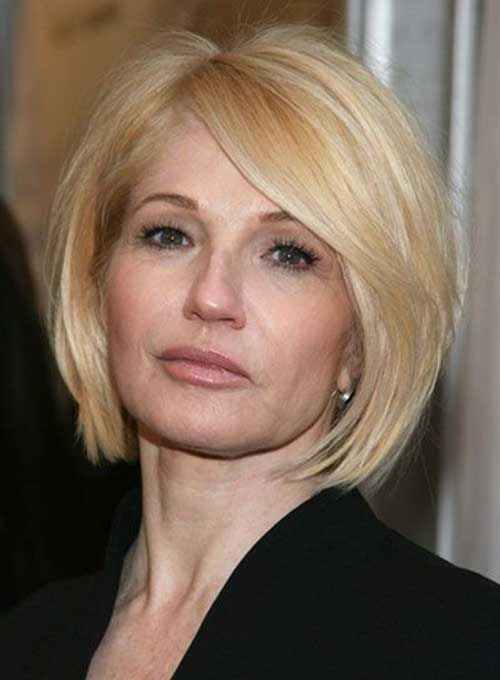 14.Short-Hair-For-Women-Over-40 Short Hair Cuts For Women Over 40