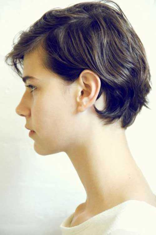 15.Cute-And-Easy-Short-Hair Cute And Easy Hairstyles For Short Hair