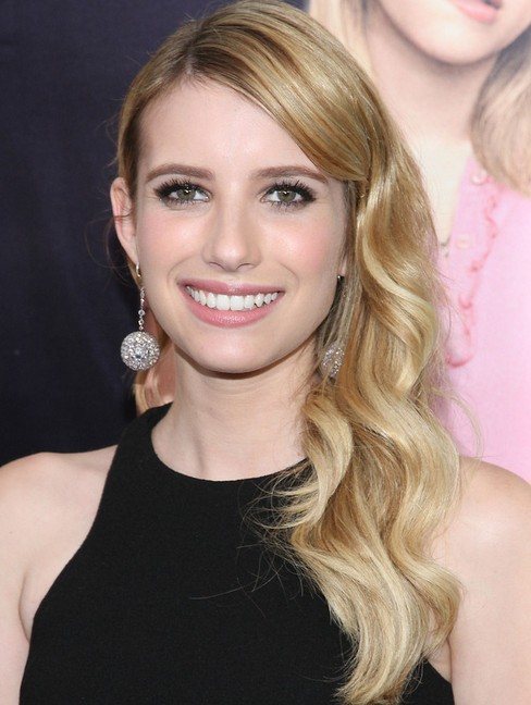 2014-Emma-Roberts-Hairstyles-Soft-Long-Wavy-Hair Top 100 Celebrity Hairstyles 2019