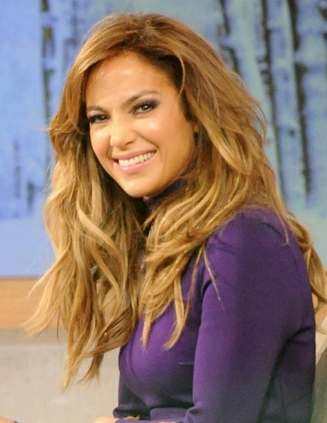 2014-Jennifer-Lopez-Hairstyles-–-Layered-Wavy-Hair-Style-for-Long-Hair Top 100 Celebrity Hairstyles 2019
