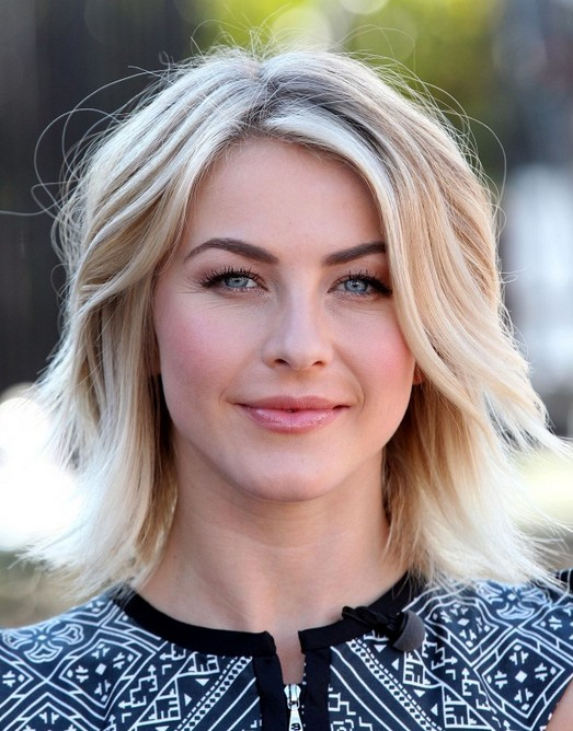 2014-Julianne-Hough-Hairstyles-Medium-Layered-Haircut Top 100 Celebrity Hairstyles 2019
