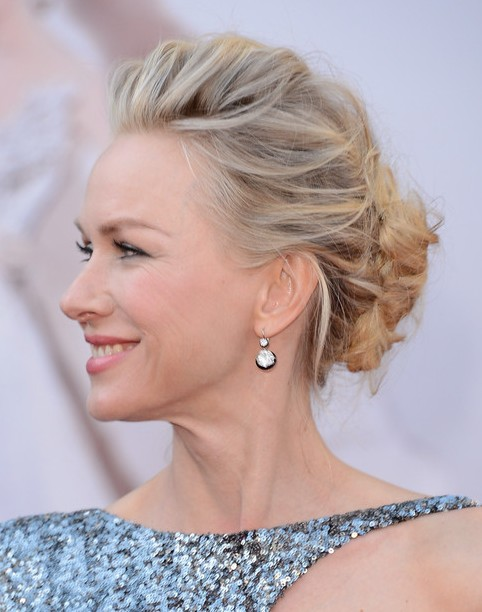 2014-Naomi-Watts-Hairstyles-Updo-Hairstyle-Ideas-for-Prom Top 100 Celebrity Hairstyles 2019