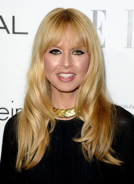2014-Rachel-Zoe-Hairstyles-–-Long-Hair-with-Short-Bangs Top 100 Celebrity Hairstyles 2019