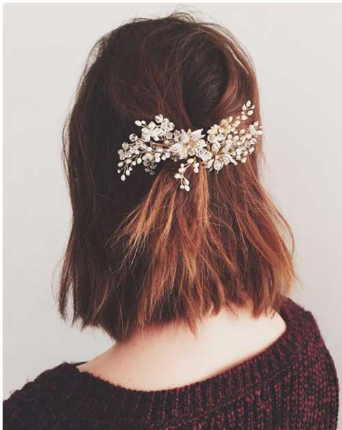 29.Cute-And-Easy-Short-Hair Cute And Easy Hairstyles For Short Hair