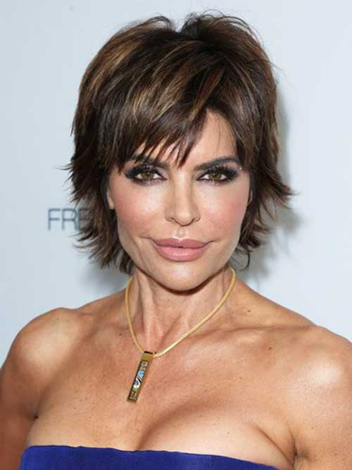 6.Short-Hair-For-Women-Over-40 Short Hair Cuts For Women Over 40