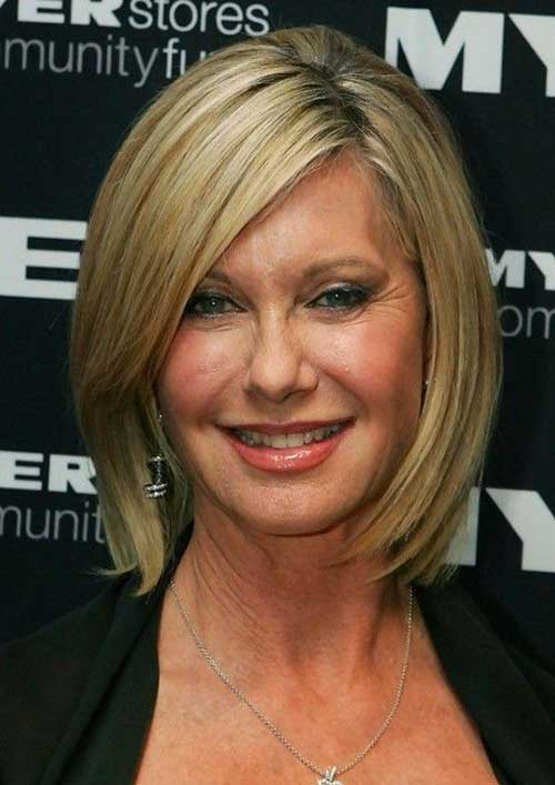 7.Short-Hair-For-Women-Over-40 Short Hair Cuts For Women Over 40