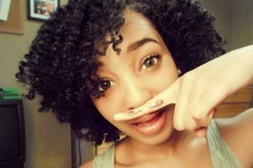 Best-Short-Black-Curly-Weave-Style Beautiful Short Curly Weave Hairstyles 2019