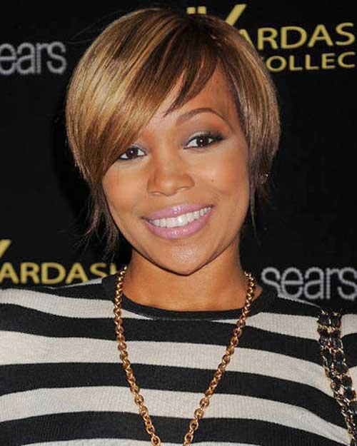 Black-Women-with-Short-Hairstyles-2 Black Women with Short Hairstyles