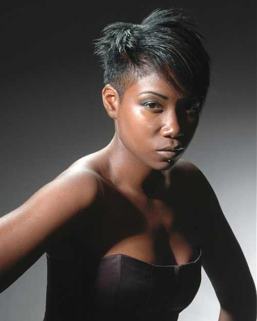 Black-Women-with-Short-Hairstyles-4 Black Women with Short Hairstyles