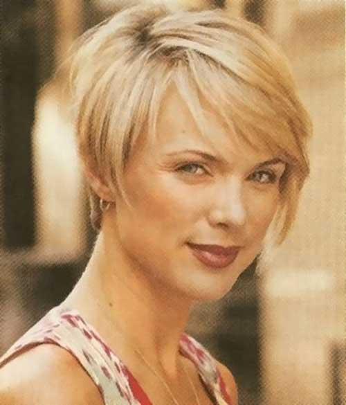 Blonde-Hairstyle-for-Short-Hair-Over-40 Short Hair Cuts For Women Over 40