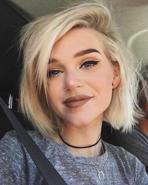 Blonde-Short-Hair-Trend Latest Short Haircuts for Women - Short Hairstyle