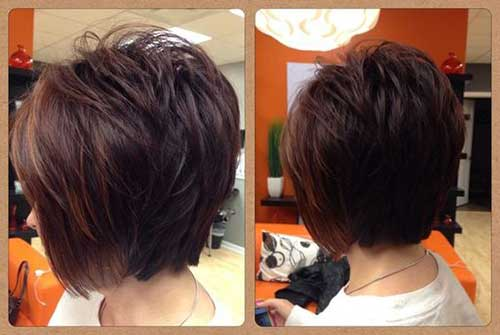 Brown-Hair Charming Short Brunette Hairstyles