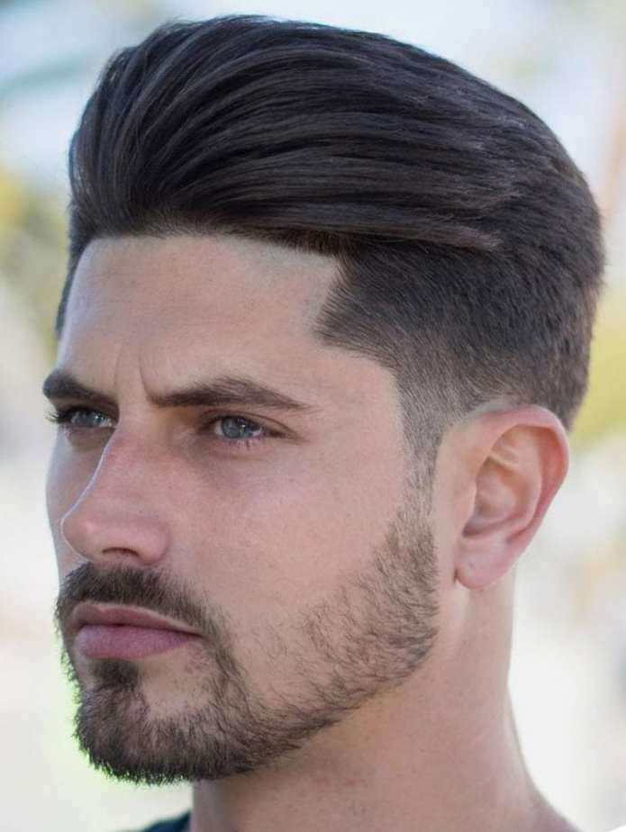 Brushed-up-and-Back-Undercut Stylish Undercut Hairstyle Variations For 2019