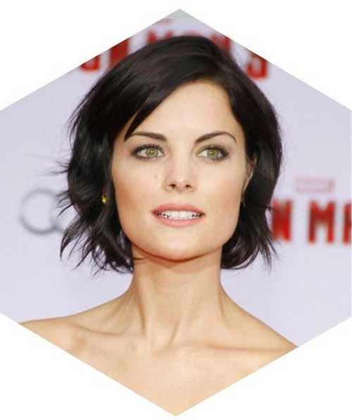 Casual-Brunette-Bob-Hairstyle Brunette Bob Hairstyles 2019