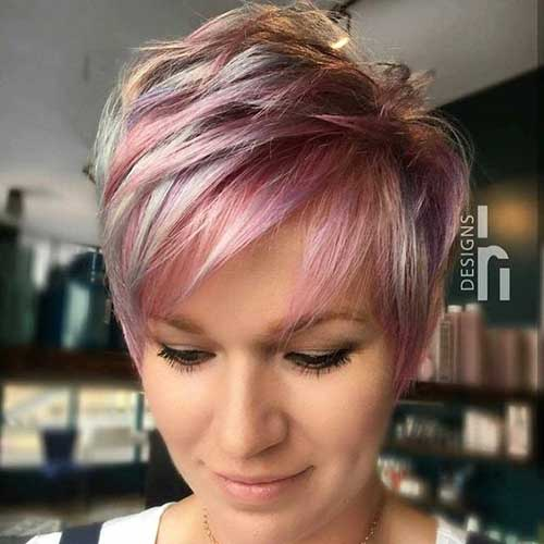 Cute-Colors-for-Pixie Latest Trend Hair Color Ideas for Short Hair