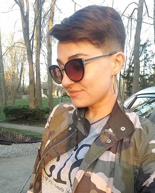 Cute-Girl Latest Short Haircuts for Women - Short Hairstyle