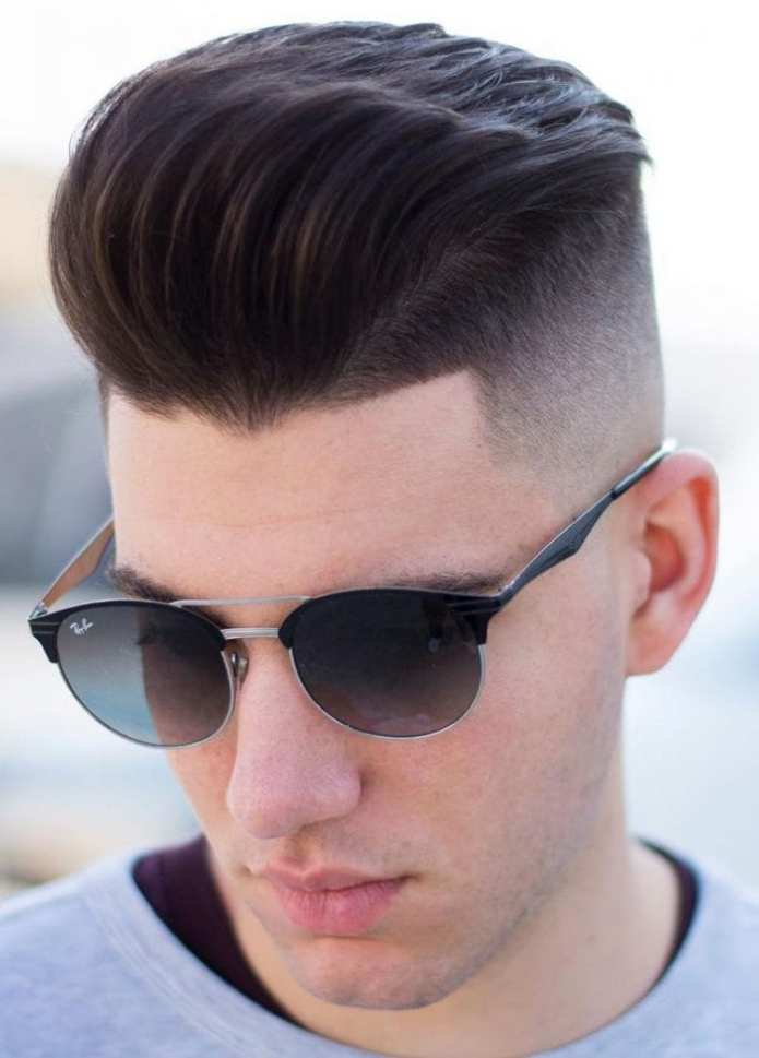 Disconnected-Undercut-with-Quiff-on-Top Stylish Undercut Hairstyle Variations For 2019